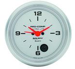 "Autometer Gauge, Clock, 2 5/8"", 12Hr, Analog, Ultra-Lite 4485"