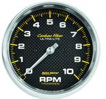 "Autometer Gauge, Tachometer, 5"", 10k RPM, In-Dash, Carbon Fiber 4898"