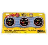"Autometer Gauge Kit, Diesel 3 pc., BOOST/EGT/TRANS, 2 1/16"" 35psi/1600şF/250şF, Ultra-Lite II 4901"