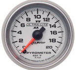 "Autometer Gauge, Pyrometer (EGT), 2 1/16"", 2000şF, Digital Stepper Motor, Ultra-Lite II 4945"