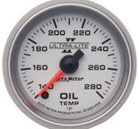 "Autometer Gauge, Oil Temp, 2 1/16"", 140-280şF, Digital Stepper Motor, Ultra-Lite II 4956"