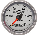 "Autometer Gauge, Air/Fuel Ratio-Wideband, Analog, 2 1/16"", 8:1-18:1, Stepper Motor, Ultra-Lite II 4970"