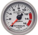 "Autometer Gauge, Nitrous Pressure, 2 1/16"", 1600psi, Digital Stepper Motor, Ultra-Lite II 4974"