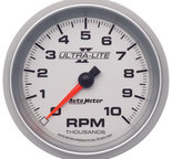 "Autometer Gauge, Tachometer, 3 3/8"", 10k RPM, In-Dash, Ultra-Lite II 4997"