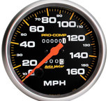 "Autometer Gauge, Speedometer, 5"", 160mph, Mechanical, Pro-Comp 5154"
