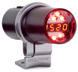 Autometer Shift Light, Digital w/ Amber LED, Black, Pedestal Mount, DPSS Level 1 5343