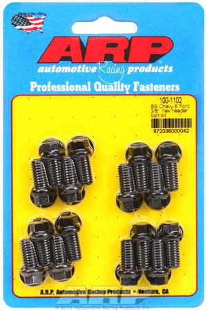 """ARP BB Chevy & Ford 3/8"""" hex header bolt kit 1001102"""