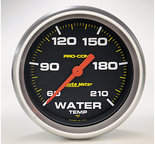 "Autometer Gauge, Low Water Temp, 2 5/8"", 60-210şF, Digital Stepper Motor, Pro-Comp 5469"