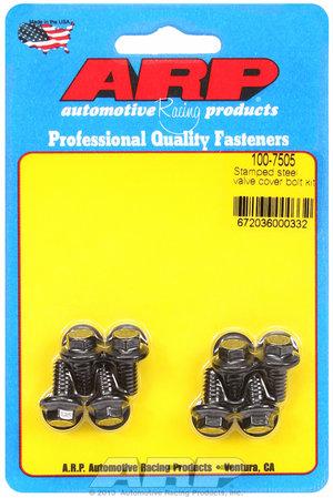 ARP Stamped steel hex valve cover bolt kit 1007505
