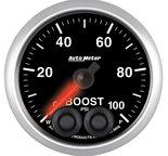 """Autometer Gauge, Boost, 2 1/16"""", 100psi, Digital Stepper Motor w/Peak & Warn, Elite 5606"""