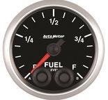 "Autometer Gauge, Fuel Level, 2 1/16"", 0-280? Programmable, Elite 5609"