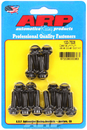 ARP Cast aluminum 12pt valve cover bolt kit 1007508