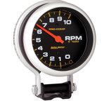 "Autometer Gauge, Tachometer, 3 3/4"", 10k RPM, Pedestal, Pro-Comp 5610"