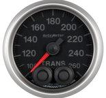 "Autometer Gauge, Trans Temp, 2 1/16"", 260şF, Stepper Motor w/Peak & Warn, Elite 5658"