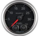 "Autometer Gauge, Fuel Press, 2 1/16"", 35psi, Stepper Motor w/Peak & Warn, Elite 5661"