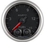 "Autometer Gauge, Fuel Press, 2 1/16"", 15psi, Stepper Motor w/Peak & Warn, Elite 5667"