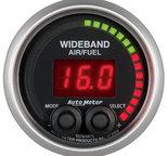 """Autometer Gauge, Air/Fuel Ratio-PRO, 2 1/16"""", 10:1-20:1, Digital w/ Peak & Warn, Elite 5678"""