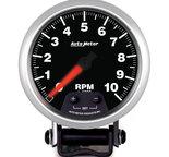 "Autometer Gauge, Tach, 3 3/4"", 10k RPM, Pedestal w/ Shift Light & Peak Mem, Elite 5690"