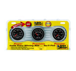 "Autometer Gauge Kit, 3 pc., OILP/WTMP/VOLT, 2 1/16"" 100psi/240şF/18V, Mech., ES 5900"