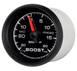 "Autometer Gauge, Vac/Boost, 2 1/16"", 30inHg-20psi, Mechanical, ES 5907"