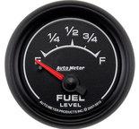 "Autometer Gauge, Fuel Level, 2 1/16"", 0?E to 90?F, Elec, ES 5913"