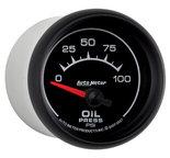"Autometer Gauge, Oil Pressure, 2 1/16"", 100psi, Electric, ES 5927"