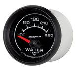 """Autometer Gauge, Water Temp, 2 1/16"""", 100-250şF, Electric, ES 5937"""