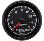 """Autometer Gauge, Pyrometer (EGT), 2 1/16"""", 1600şF, Digital Stepper Motor, ES 5944"""