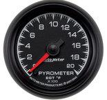 """Autometer Gauge, Pyrometer (EGT), 2 1/16"""", 2000şF, Digital Stepper Motor, ES 5945"""