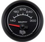 """Autometer Gauge, Oil Temp, 2 1/16"""", 140-300şF, Electric, ES 5948"""