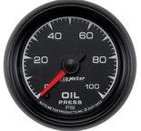 "Autometer Gauge, Oil Pressure, 2 1/16"", 100psi, Digital Stepper Motor, ES 5953"