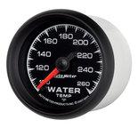 "Autometer Gauge, Water Temp, 2 1/16"", 100-260şF, Digital Stepper Motor, ES 5955"