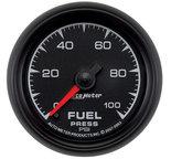 """Autometer Gauge, Fuel Pressure, 2 1/16"""", 100psi, Digital Stepper Motor, ES 5963"""