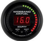 """Autometer Gauge, Air/Fuel Ratio-PRO, 2 1/16"""", 10:1-20:1, Digital w/ Peak & Warn, ES 5978"""