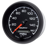 """Autometer Gauge, Speedometer, 3 3/8"""", 160mph, Elec. Programmable, ES 5988"""
