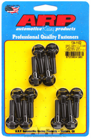 ARP SBC/GENIII LS 3/8 flange hex header bolt kit 1341102