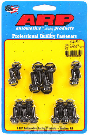 ARP SB Chevy 1-pc oil pan gasket 12pt bolt kit 1341801