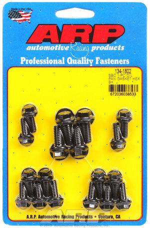 ARP SB Chevy 1-pc oil pan gasket hex bolt kit 1341802