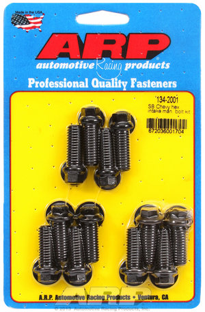 ARP SB Chevy hex intake manifold bolt kit 1342001