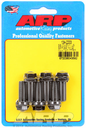 "ARP SB Chevy LS Series w/12"" clutch pressure plate bolt kit 1342203"