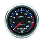 "Autometer Gauge, Nitrous Pressure, 2 1/16"", 1600psi, Digital Stepper Motor, Cobalt 6174"