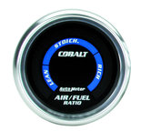 "Autometer Gauge, Air/Fuel Ratio-Narrowband, 2 1/16"", Lean-Rich, LED Array, Cobalt 6175"