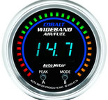 "Autometer Gauge, Air/Fuel Ratio-PRO, 2 1/16"", 10:1-20:1, Digital w/ Peak & Warn, Cobalt 6178"
