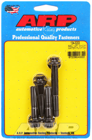 ARP SB Chevy 12pt short water pump bolt kit 1343203
