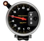 """Autometer Gauge, Tach, 5"""", 9k RPM, Pedestal w/ Quick Lite & Peak Memory, Pro-Comp 6851"""
