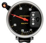"""Autometer Gauge, Tach, 5"""", 9k RPM, Pedestal Dual Range w/ Quick Lite & Peak Memory, Pro-Comp 6852"""