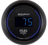 "Autometer Gauge, Fuel Level, 2 1/16"", 0-280? Programmable, Digital, Black Dial w/ Blue LED 6910"