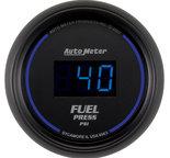 """Autometer Gauge, Fuel Pressure, 2 1/16"""", 100psi, Digital, Black Dial w/ Blue LED 6963"""