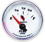 "Autometer Gauge, Fuel Level, 2 1/16"", 0?E to 90?F, Elec, C2 7113"