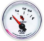 "Autometer Gauge, Fuel Level, 2 1/16"", 73?E to 10?F, Elec, C2 7115"